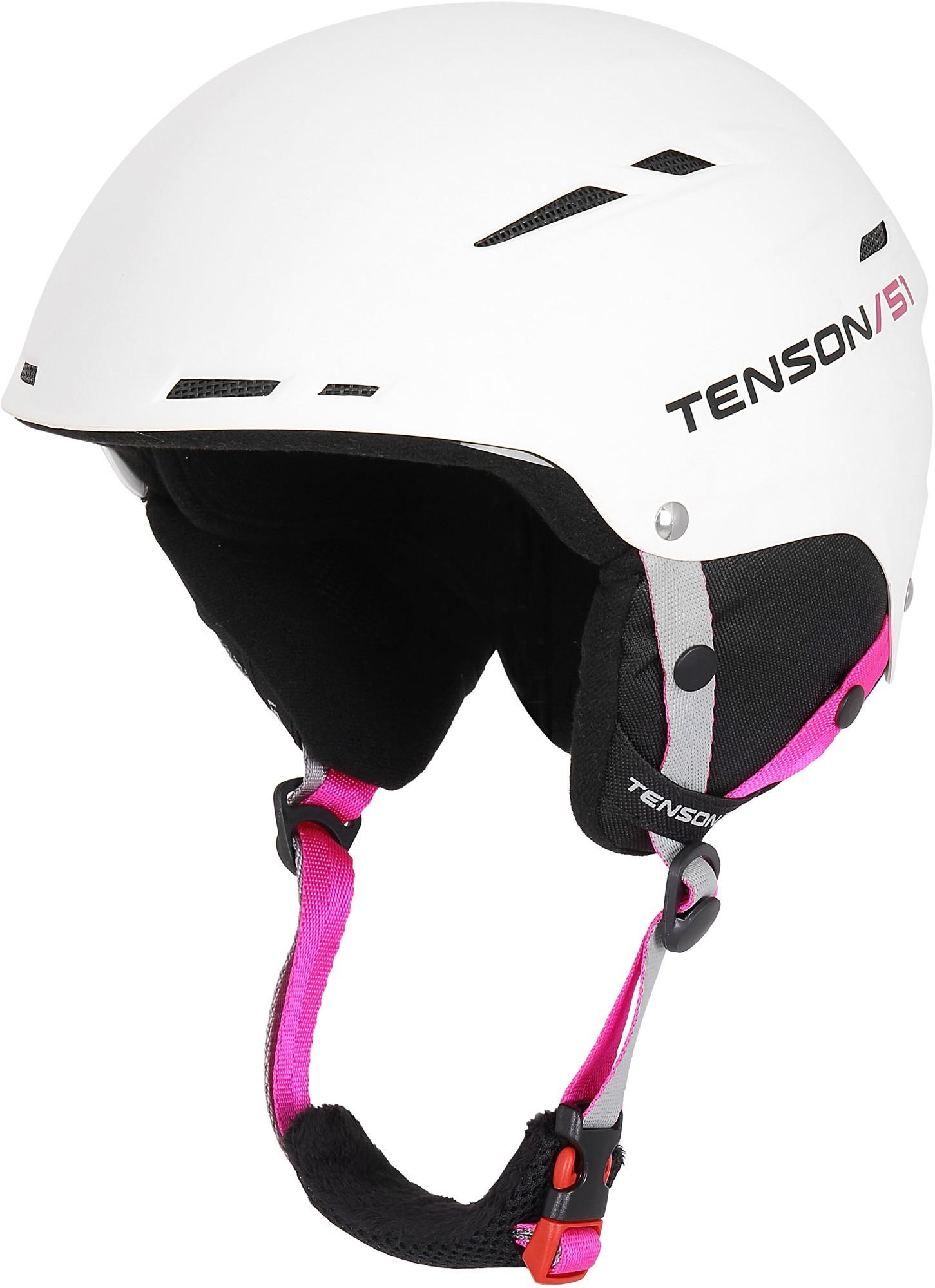Kask narciarski Tenson Proxy, biały White M