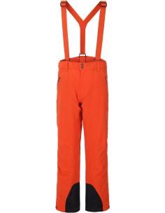 Spodnie narciarskie męskie Tenson Zeus, pomarańczowe