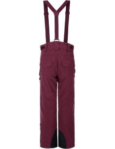 Spodnie narciarskie damskie Tenson Zola, burgundowe