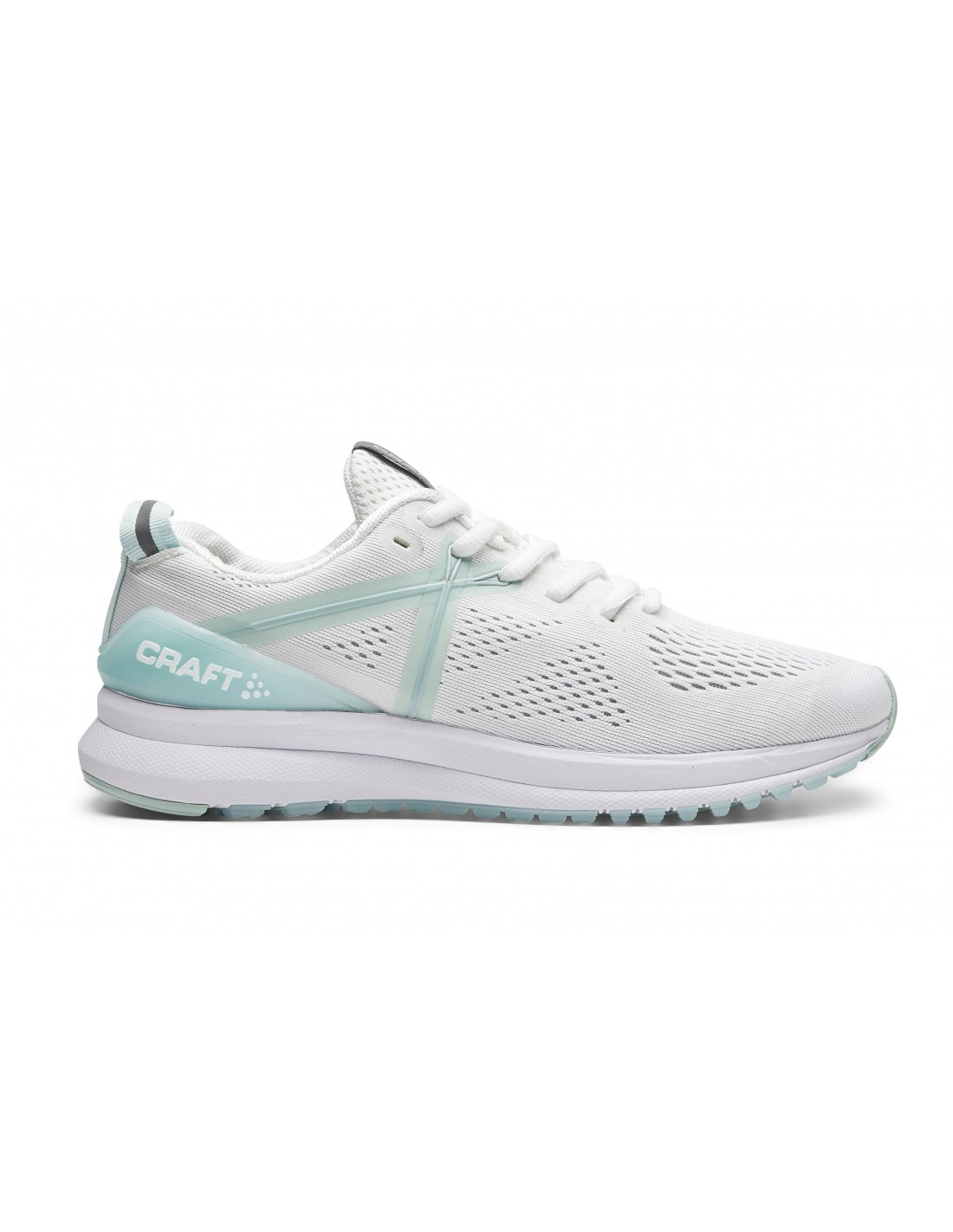 Buty biegowe damskie Craft X165 Fuseknit W, białe STSklep