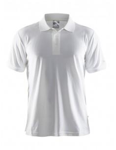 Koszulka męska Craft Polo Shirt Pique Classic biała