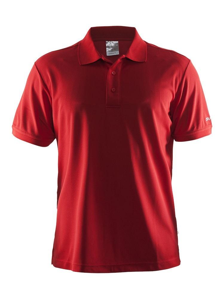 Koszulka mêska Craft Polo Shirt Pique Classic czerwona