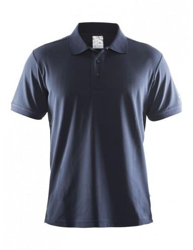 Koszulka męska Craft Polo Shirt Pique Classic granatowa
