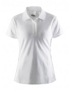 Koszulka damska Craft Polo Shirt Pique Classic biała