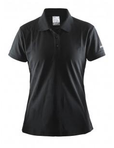 Koszulka damska Craft Polo Shirt Pique Classic czarna