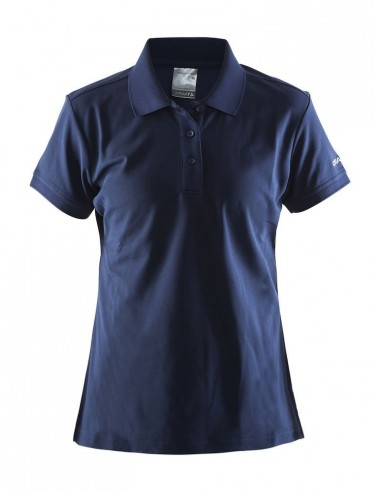 Koszulka damska Craft Polo Shirt Pique Classic granatowa