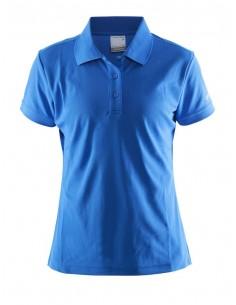 Koszulka damska Craft Polo Shirt Pique Classic niebieska