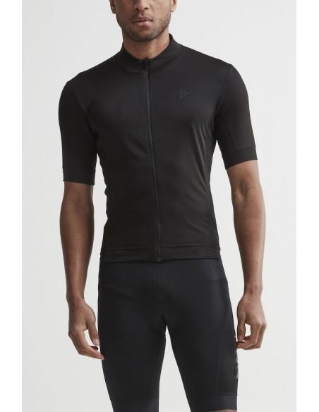 Koszulka rowerowa męska Craft Essence Jersey czarna