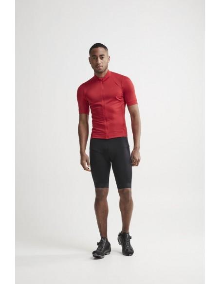 Koszulka rowerowa męska Craft Essence Jersey czerwona