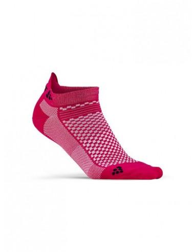 Skarpetki sportowe CRAFT Cool Shaftless 2-pack Sock różowe