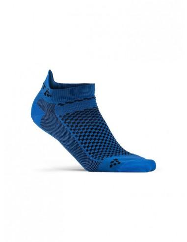 Skarpetki sportowe CRAFT Cool Shaftless 2-pack Sock niebieskie