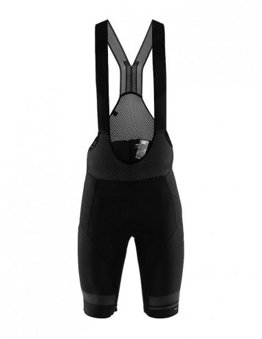Spodenki Rowerowe Męskie CRAFT Hale Glow Bib Shorts Czarne2