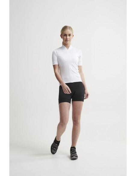 Koszulka rowerowa damska Craft Essence Jersey biała