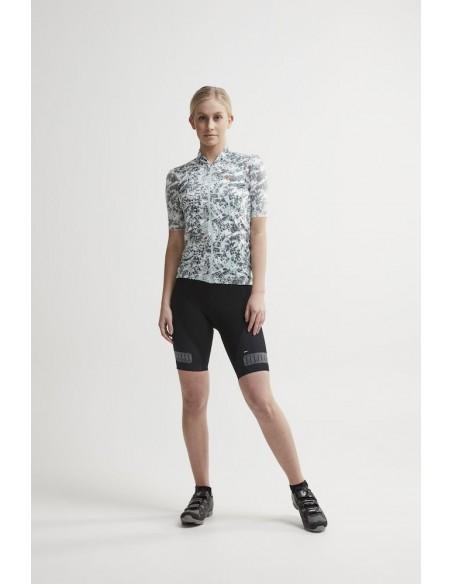 Spodenki Rowerowe Damskie CRAFT Hale Glow Bib Shorts Czarne