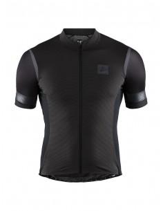Koszulka rowerowa męska CRAFT Hale Glow Jersey Czarna