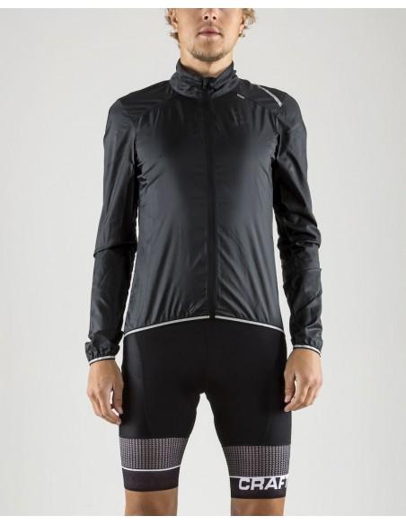 Kurtka rowerowa męska CRAFT Lithe Jacket czarna