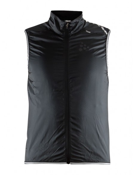 Kamizelka rowerowa męska CRAFT Lithe Vest czarna