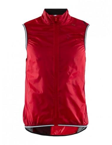Kamizelka rowerowa męska CRAFT Lithe Vest czerwona