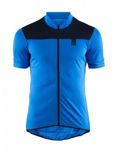 Koszulka rowerowa męska CRAFT Point Jersey niebieska
