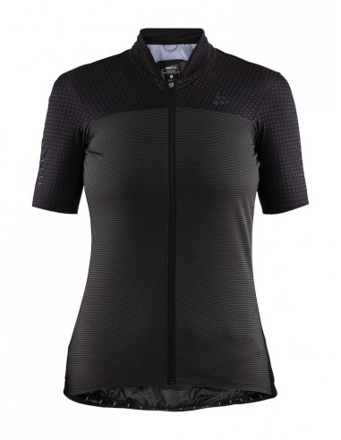 Koszulka rowerowa damska Craft Hale Glow Jersey Koralowa