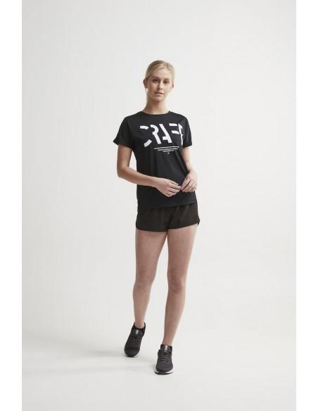 Spodenki Damskie CRAFT Eaze Woven Shorts W Czarne
