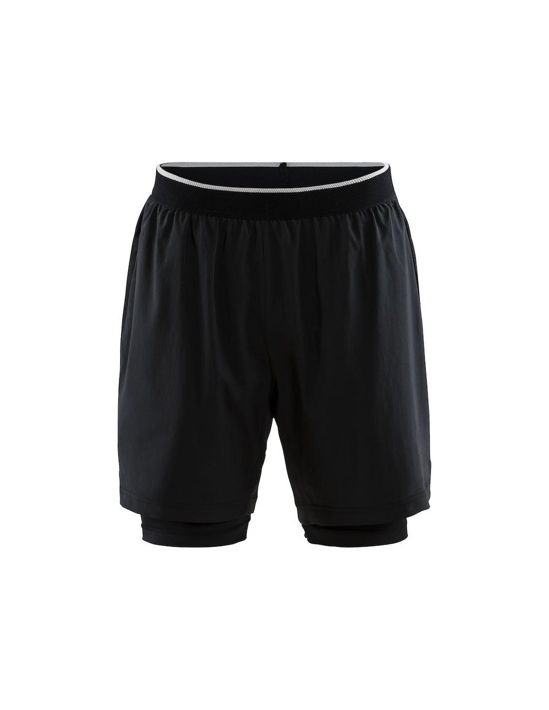 29f521a0 Spodenki Męskie 2 w 1 Craft Charge Shorts M Czarne - STSklep