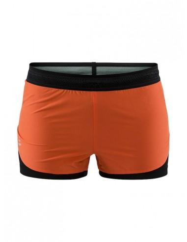 Spodenki Damskie CRAFT Nanoweight Shorts W Koralowe