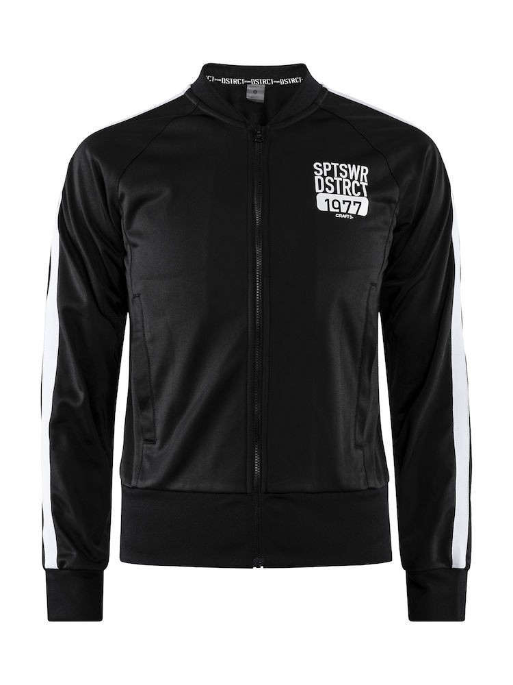 Bluza damska Craft District Jacket W Czarna S