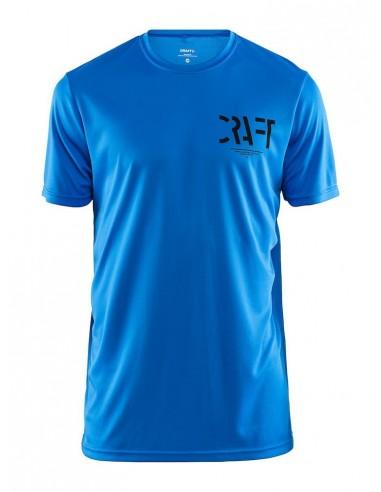 Koszulka męska sportowa Craft Eaze SS Graphic Tee niebieska