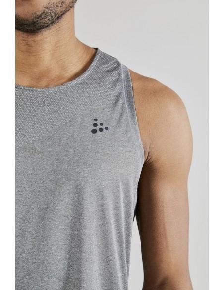Koszulka męska na ramiączkach Craft Nanoweight Singlet M  Szara