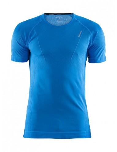 Koszulka termoaktywna męska Craft Cool Intensity RN SS Niebieska