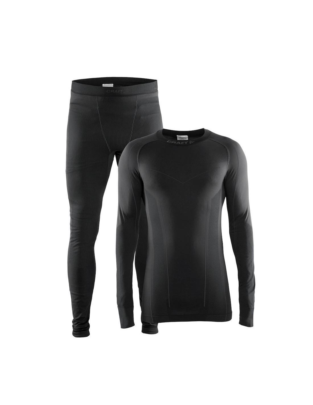 d59d838089ed3a Koszulka i spodnie termoaktywne męskie Craft Baselayer SeamLess Zone ...