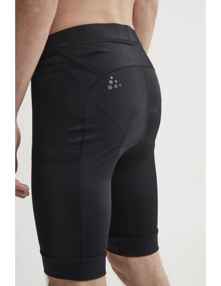 Spodenki rowerowe męskie CRAFT Rise Shorts czarne