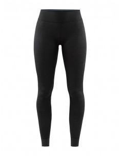 Legginsy termoaktywne damskie Craft Fuseknit Comfort Pants - Czarne