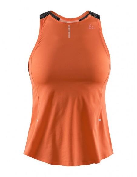 Koszulka damska na ramiączkach Craft Nanoweight Singlet W Koralowa