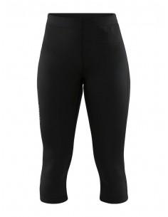 Spodnie damskie 3/4 Craft Eaze Capri Tights Czarne