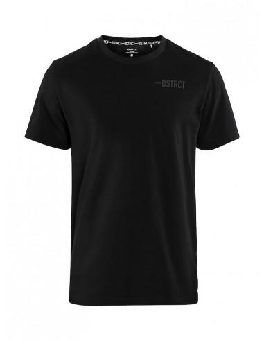 T-Shirt Męski Craft District Clean Tee M Czarny