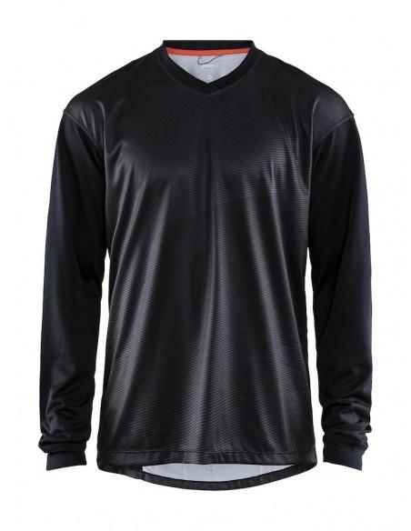 Koszulka rowerowa z dł. rękawem męska CRAFT Hale XT Czarna