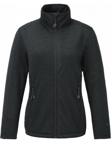 Tenson Lacy Fleece Czarna Bluza Damska