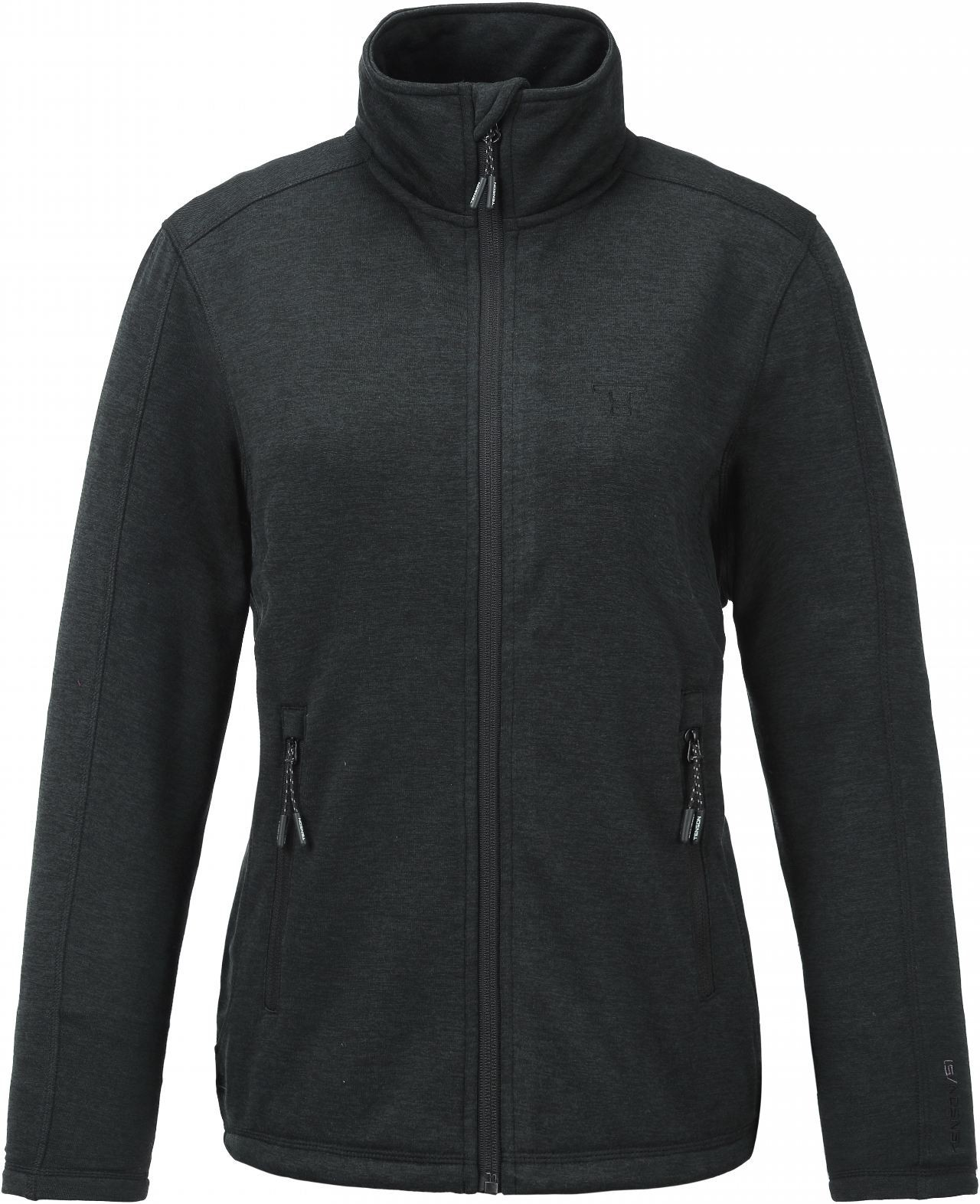 Bluza damska Tenson Lacy Fleece, czarna Black 36