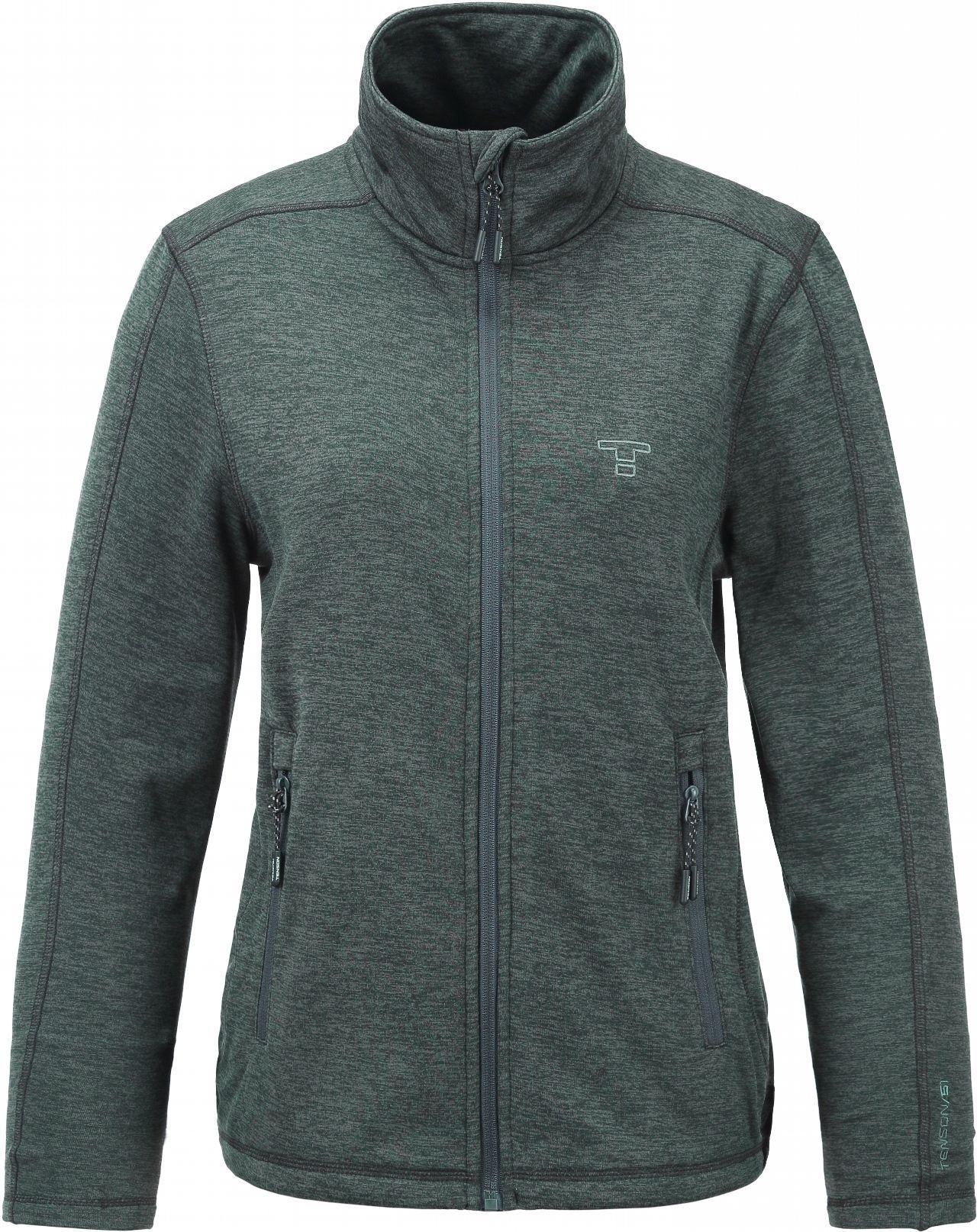 Bluza damska Tenson Lacy Fleece, khaki 36 Khaki