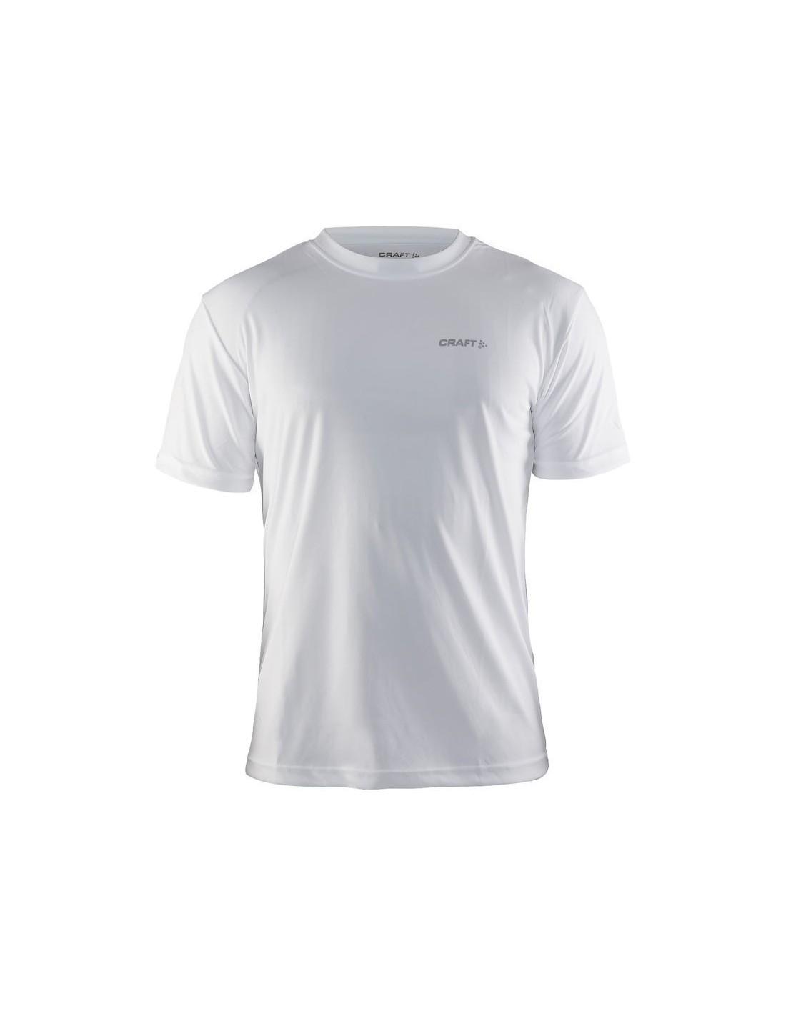ce78d15c4dda47 Koszulka sportowa męska Craft Prime Tee biała - STSklep