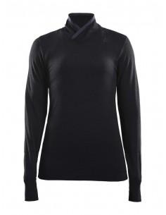 Golf termoaktywny damski Craft Fusenkit Comfort Wrap LS, czarny