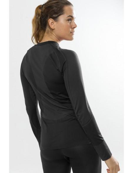 CRAFT BASELAYER SEAMLESS ZONE SET W 1905329-2999 Koszulka i spodnie damskie