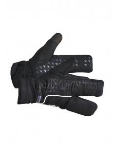 Rękawice trójpalczaste Craft Siberian 2.0 Split Finger Glove, czarne