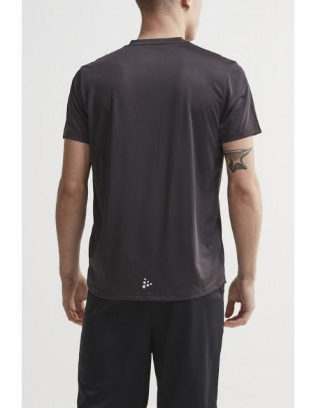 Treningowa Koszulka Męska Craft Eaze SS Logo Mesh Tee Czarna2