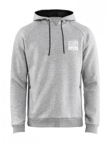 Bluza męska Craft District Hoodie M Szara