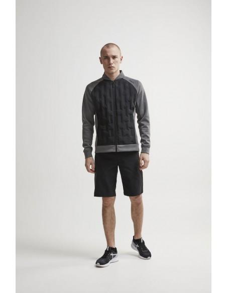 Bluza hybrydowa męska Craft  District Hybrid Jacket M Szara