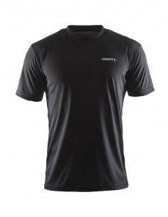 Koszulka sportowa męska Craft Prime Tee czarna