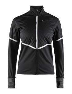 Kurtka do biegania damska Craft Urban Run Thermal Wind Jacket - Czarna